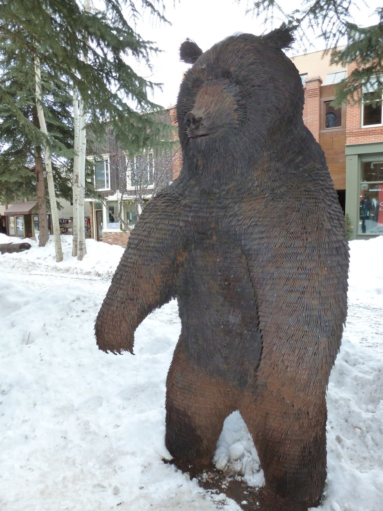 BEAR constructed with nails