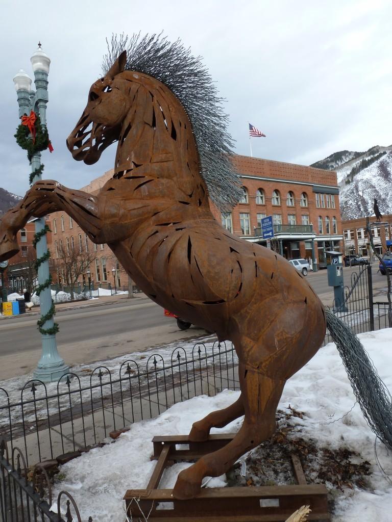 Stallion on Main Street