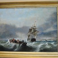 English Seascape circa 1850